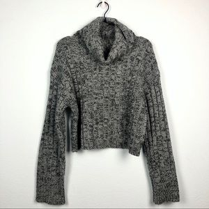 Urban Outfitters Chunky Knit Cowl Neck Sweater